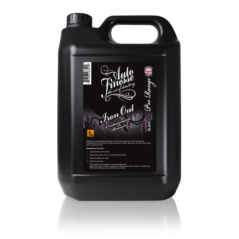 Čistič na alu kola Auto Finesse Iron Out (5000 ml)