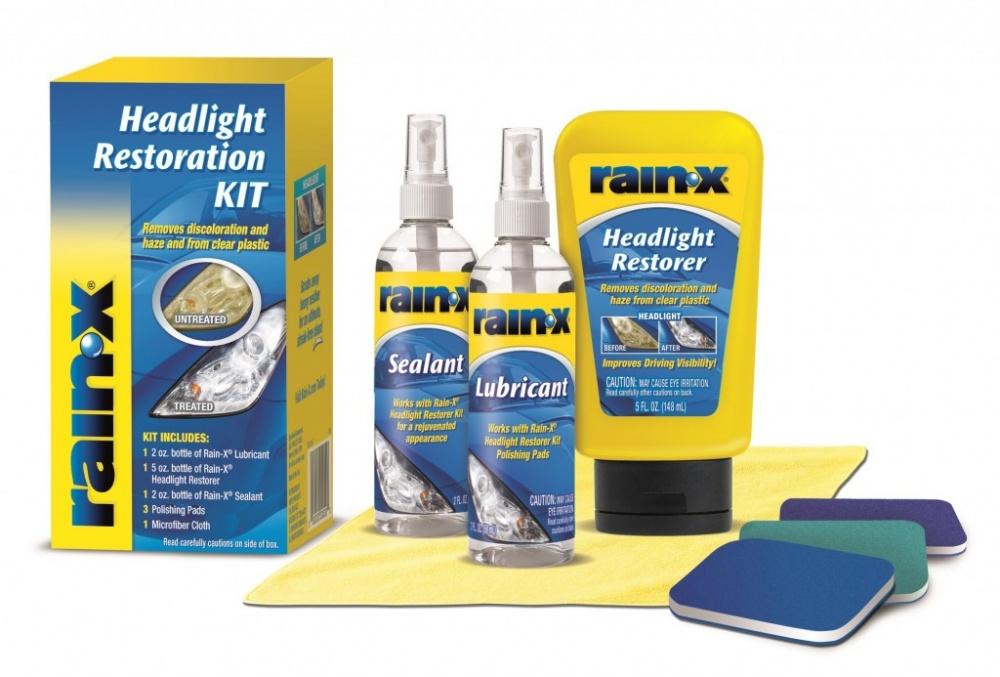 Sada na leštění světel Rain-X Headlight Restoration Kit