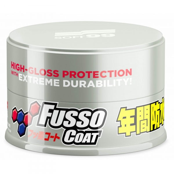 Vosk na auto SOFT99 New Fusso Coat 12 Months Wax Light (200 g)