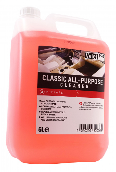 Čistič interiéru ValetPRO Classic All-Purpose Cleaner (5000 ml)