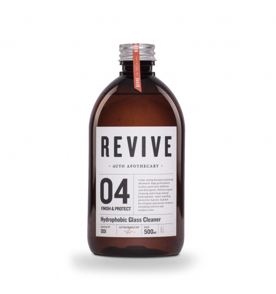 REVIVE Hydrophobic Glass Cleaner (500 ml)