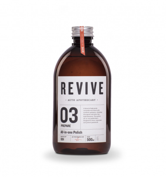 Leštěnka na auto REVIVE All-in-one Polish (500 ml)